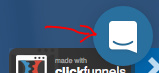 Clickfunnels Chat Support Popup Button